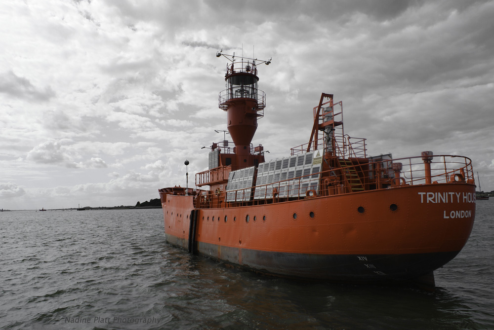Photograph of a Light Ship