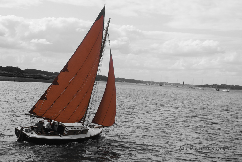 Yacht with Scarlet Sails