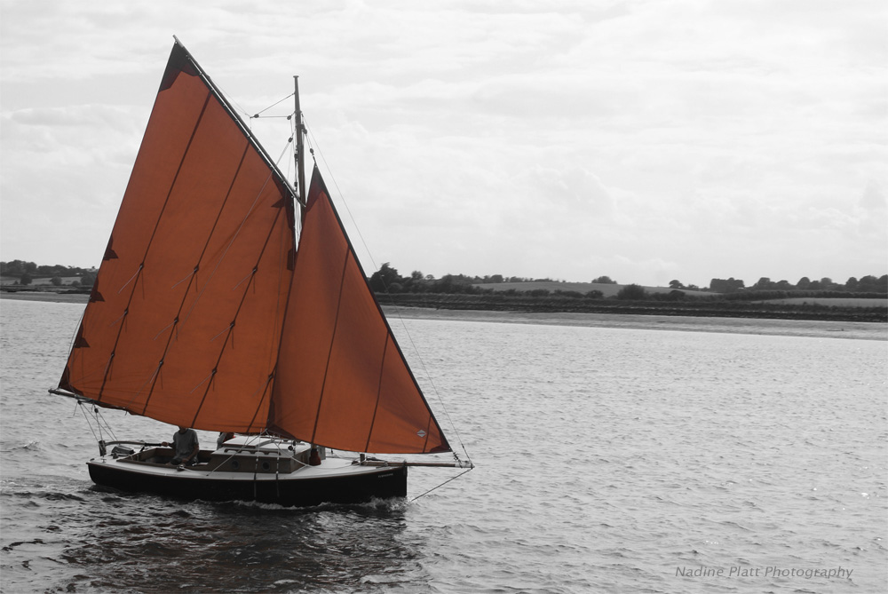 Photograph of a Yacht with Scarelt Sales