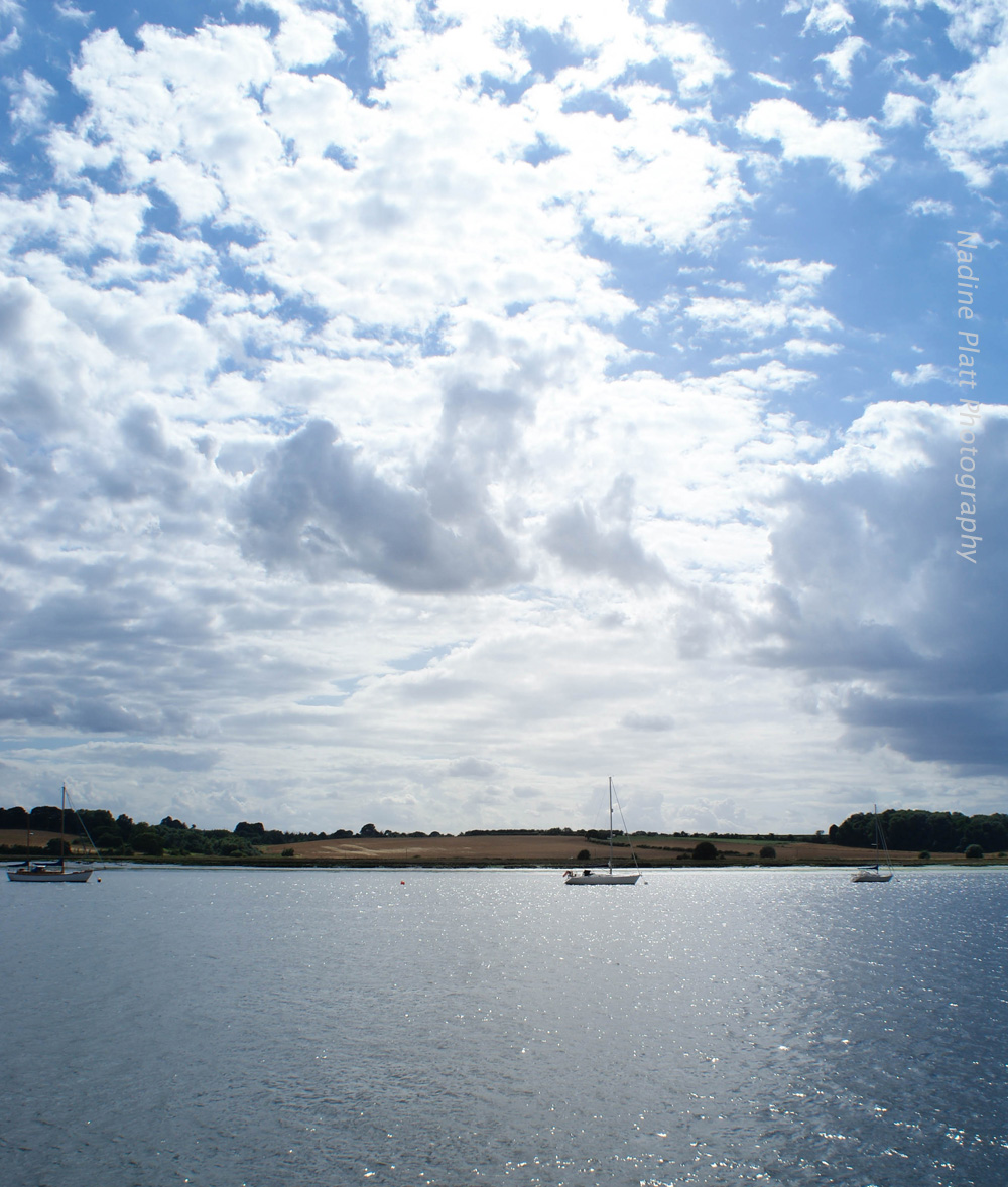 River Orwell Clouds and Boats