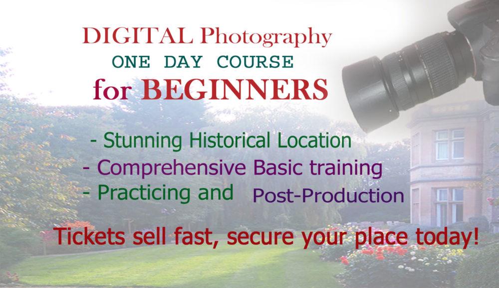 Digital Photography Course 28 September 2017