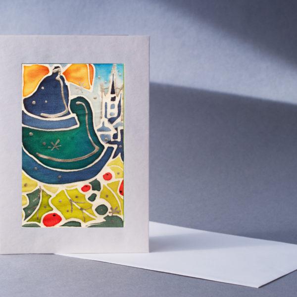 "Christmas Card ""Christmas Bells"" designed by Nadine Platt"