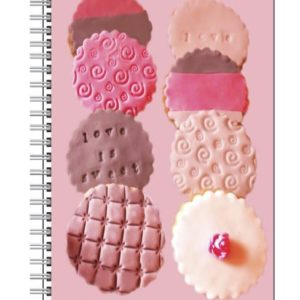 Notebook with Biscuits by Nadine Platt