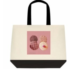 "Deluxe Designer Tote Bag ""Sweet Tooth"""