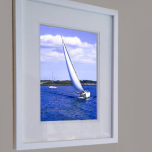 "Framed Print ""White Sails"" by Nadine Platt"